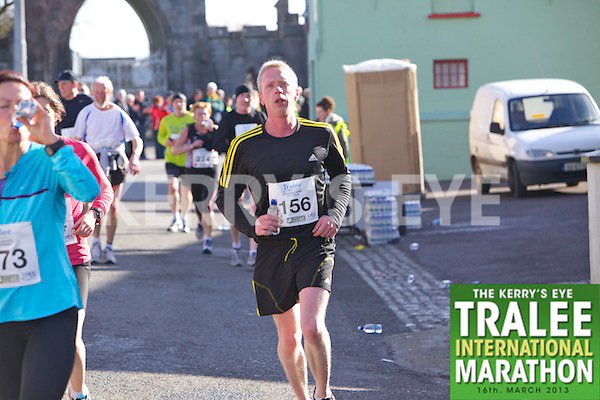 0156 Martin Dowling who took part in the Kerry's Eye, Tralee International Marathon on Saturday March 16th 2013.