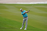 Calum Hill (SCO) on the 9th during Round 1 of the Oman Open 2020 at the Al Mouj Golf Club, Muscat, Oman . 27/02/2020<br /> Picture: Golffile   Thos Caffrey<br /> <br /> <br /> All photo usage must carry mandatory copyright credit (© Golffile   Thos Caffrey)