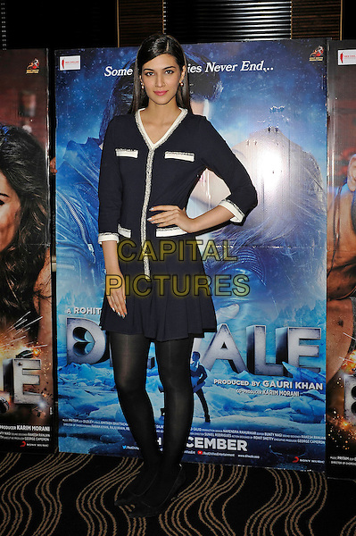 LONDON, ENGLAND - DECEMBER 1:  Kriti Sanon attending the 'Dilwale' photocall at Montcalm Hotel on December 1, 2015 in London, England.<br /> CAP/MAR<br /> &copy;MAR/Capital Pictures