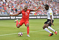 Commerce City, CO - Thursday June 08, 2017: Darlington Nagbe during their 2018 FIFA World Cup Qualifying Final Round match versus Trinidad & Tobago at Dick's Sporting Goods Park.