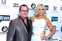 Herman Echevarria and Alexia Echevarria attend Real Housewives of Miami Season 3 VIP Premiere Party, at Lou La Vie, Miami, FL, on August 6, 2013
