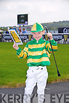 6 year old Adam Lynch from Killocrim, Listowel enjoying the Listowel Races on Sunday