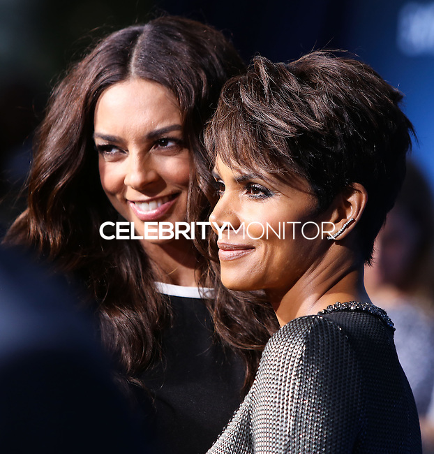 LOS ANGELES, CA, USA - JUNE 16: Terri Seymour and Halle Berry arrive at the Los Angeles Premiere Of CBS Films' 'Extant' held at the California Science Center on June 16, 2014 in Los Angeles, California, United States. (Photo by Xavier Collin/Celebrity Monitor)
