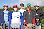Enjoying the action at the Kingdom Cup Baseball Blitz held at Tralee Sports Complex on Saturday were front l/r Thomas Raymond, Rathoonane and Forrest Pierse, Ballyard, back l/r Tom Clancy, Blennerville, James O'Callaghan, Ballyard and Moi?ra Ciepierski, Castlegregory.............. ............   Copyright Kerry's Eye 2008