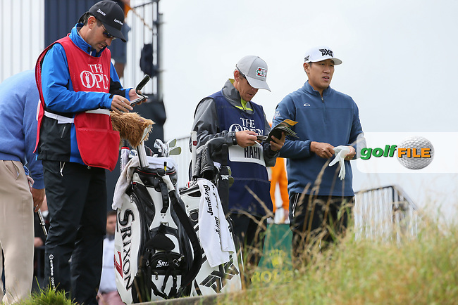 Jon Hahn (USA) during Thursday's Round One at The 146th Open played at Royal Birkdale, Southport, England.  20/07/2017. Picture: David Lloyd | Golffile.<br /> <br /> Images must display mandatory copyright credit - (Copyright: David Lloyd | Golffile).