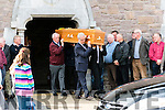 The Funeral of William and Daniel Mc Carthy, from Glens, at St. Mary's Church, Dingle, on Sunday.
