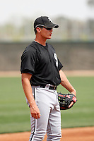 Jonathan Gilmore -  Chicago White Sox - 2009 spring training.Photo by:  Bill Mitchell/Four Seam Images