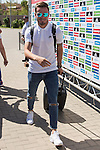 Spanish player Saul Iniguez arrives to concentration of Spanish football team at Ciudad del Futbol de Las Rozas before the qualifying for the Russia world cup in 2017 August 29, 2016. (ALTERPHOTOS/Rodrigo Jimenez)