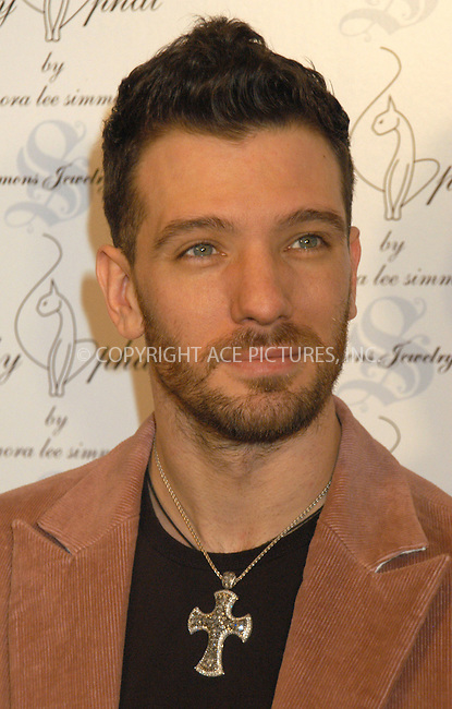 WWW.ACEPIXS.COM . . . . . ....NEW YORK, FEBRUARY 5, 2005....JC Chasez at the Baby Phat Fall 2005 fashion show.....Please byline: KRISTIN CALLAHAN - ACE PICTURES.. . . . . . ..Ace Pictures, Inc:  ..Philip Vaughan (646) 769-0430..e-mail: info@acepixs.com..web: http://www.acepixs.com