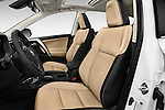 Front seat view of 2016 Toyota RAV4 Limited 5 Door SUV Front Seat  car photos