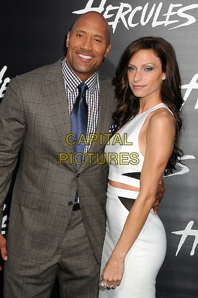 23 July 2014 - Hollywood, California - Dwayne Johnson, Lauren Hashian. &quot;Hercules&quot; Los Angeles Premiere held at the TCL Chinese Theatre. <br /> CAP/ADM/BP<br /> &copy;Byron Purvis/AdMedia/Capital Pictures