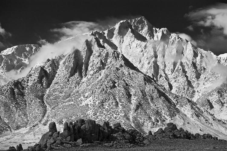 Lone Pine Peak and the Alabama Hills, California