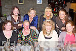 FRIENDS NIGHT: Enjoying a friends night out at the Station House restaurant and bar, Blennerville on Friday seated l-r: Denise Corcoran, Val Riordan, Trina Rahilly and Sinead Joy. Back l-r: Trish Tagney, Triona O'Keeffe, Emer Thompson and Muireann Nolan.