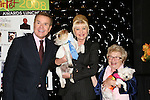 Mike Jerrick- Host of Morning Show with Mike and Juliet - Ivana Trump - Dr. Ruth and puppies at the First Annual StarPet 2008 Awards Luncheon as dogs and cats compete for a career in showbusiness on November 10, 2008 at the Edison Ballroom, New York, New York. The event benefitted Bideawee and NY SAVE. (Photo by Sue Coflin/Max Photos