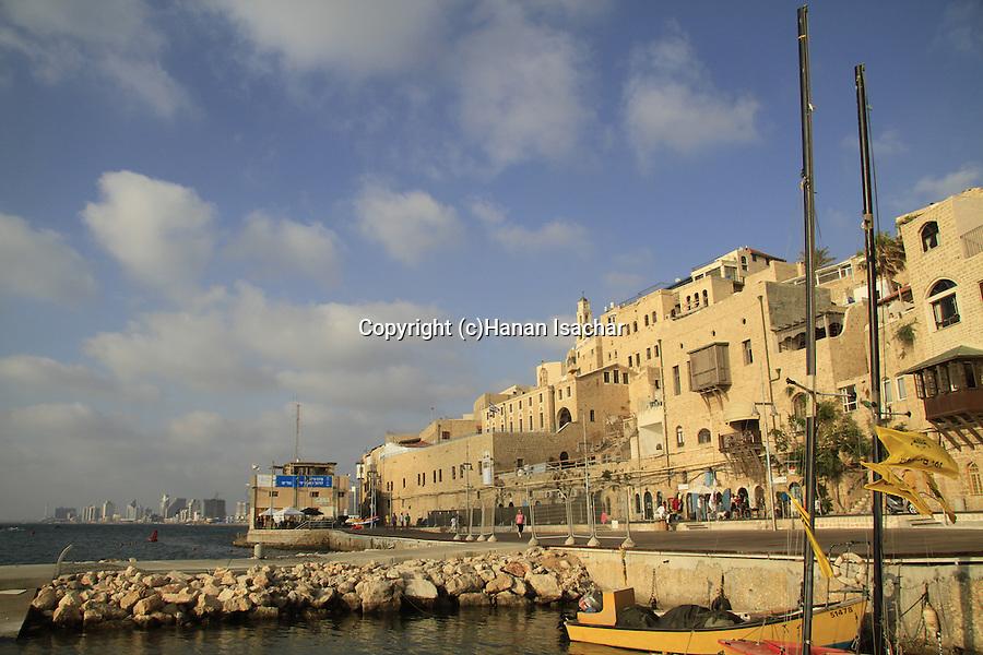 Israel, boats in Jaffa's port