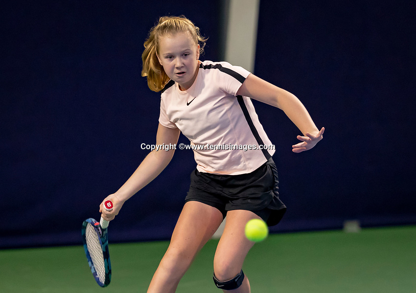 Hilversum, Netherlands, December 2, 2018, Winter Youth Circuit Masters, Britt du Pree (NED)<br /> Photo: Tennisimages/Henk Koster