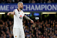 Valon Behrami of Watford during Chelsea vs Watford, Premier League Football at Stamford Bridge on 15th May 2017