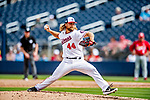 26 February 2019: Washington Nationals pitcher Trevor Rosenthal on the mound during a Spring Training game against the St. Louis Cardinals at the Ballpark of the Palm Beaches in West Palm Beach, Florida. The Nationals fell to the visiting Cardinals 6-1 in Grapefruit League play. Mandatory Credit: Ed Wolfstein Photo *** RAW (NEF) Image File Available ***
