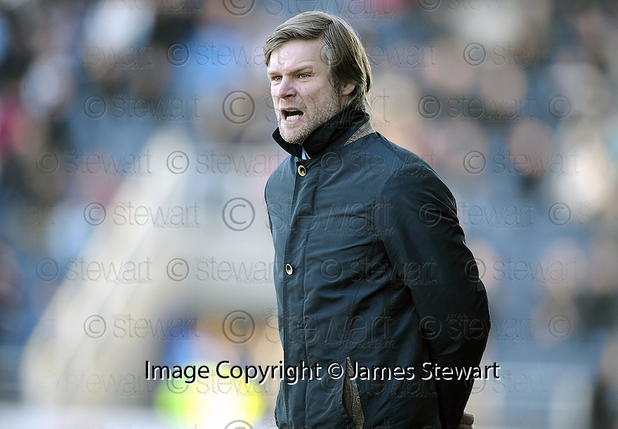 20/02/2010  Copyright  Pic : James Stewart.sct_jspa14_falkirk_v_aberdeen  .::  FALKIRK MANAGER STEVEN PRESSLEY WATCHES AS  HIS TEAM BEATS ABERDEEN ::.James Stewart Photography 19 Carronlea Drive, Falkirk. FK2 8DN      Vat Reg No. 607 6932 25.Telephone      : +44 (0)1324 570291 .Mobile              : +44 (0)7721 416997.E-mail  :  jim@jspa.co.uk.If you require further information then contact Jim Stewart on any of the numbers above.........