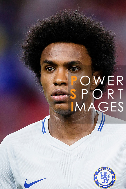 Chelsea Midfielder Willian da Silva during the International Champions Cup 2017 match between FC Internazionale and Chelsea FC on July 29, 2017 in Singapore. Photo by Marcio Rodrigo Machado / Power Sport Images
