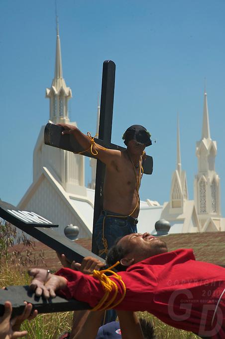 Easter Celebration Good Friday Crucifiction, San Fernando, Pampanga, Philippines