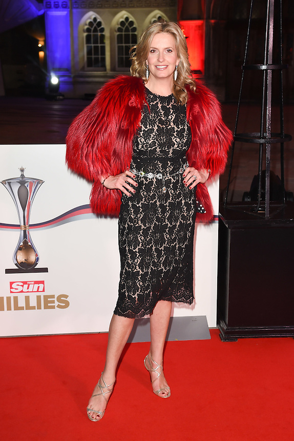 Penny Lancaster<br /> at the Millies 2016, Guildhall, London.<br /> <br /> <br /> ©Ash Knotek  D3212  14/12/2016