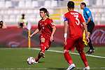 Do Duy Manh of Vietnam (L) in action during the AFC Asian Cup UAE 2019 Group D match between Vietnam (VIE) and I.R. Iran (IRN) at Al Nahyan Stadium on 12 January 2019 in Abu Dhabi, United Arab Emirates. Photo by Marcio Rodrigo Machado / Power Sport Images