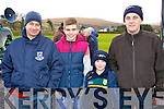 Pat Shanahan, Padraig Shanahan (Duagh) and Tony and Anthony Dowling (St Senans) pictured at the McGrath Cup semi-final, Kerry v CIT on Sunday.