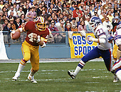 Washington Redskins running back John Riggins (44) carries the ball during the game against the New York Giants at RFK Stadium in Washington, D.C. on November 12, 1978.  The Redskins won the game 16 - 13..Credit: Arnie Sachs / CNP