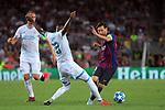 UEFA Champions League 2018/2019 - Matchday 1.<br /> FC Barcelona vs PSV Eindhoven: 4-0.<br /> Pablo Rosario vs Lionel Messi.