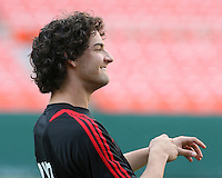 Pato #7 of AC Milan at a practice session for DC United and AC Milan at RFK Stadium in Washington DC on may 25 2010.