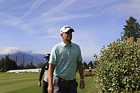 Bernd Wiesberger (AUT) walks to the 18th tee during Thursday's Round 1 of the 2017 Omega European Masters held at Golf Club Crans-Sur-Sierre, Crans Montana, Switzerland. 7th September 2017.<br /> Picture: Eoin Clarke | Golffile<br /> <br /> <br /> All photos usage must carry mandatory copyright credit (&copy; Golffile | Eoin Clarke)