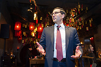Credit Suisse dinner in Hutong restaurant, Tsim She Tsui Hong Kong, China, on 20 March 2018. Photo by Lucas Schifres/Studio EAST