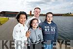 Linda, Mark, Emma and Eva Flanagan pictured at Tralee Bay Wetlands.