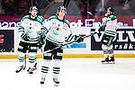Stockholm 2014-03-27 Ishockey Kvalserien Djurg&aring;rdens IF - R&ouml;gle BK :  <br /> R&ouml;gles Emil Molin deppar<br /> (Foto: Kenta J&ouml;nsson) Nyckelord:  DIF Djurg&aring;rden R&ouml;gle RBK Hovet depp besviken besvikelse sorg ledsen deppig nedst&auml;md uppgiven sad disappointment disappointed dejected