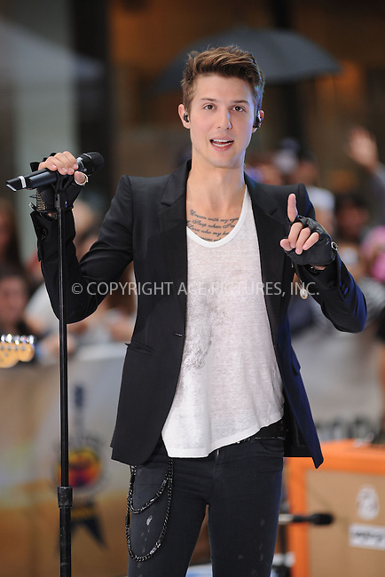 WWW.ACEPIXS.COM . . . . . .July 20, 2012...New York City....Ryan Follese of Hot Chelle Rae performs on NBC's 'Today' at Rockefeller Plaza on July 20, 2012 in New York City ....Please byline: KRISTIN CALLAHAN - ACEPIXS.COM.. . . . . . ..Ace Pictures, Inc: ..tel: (212) 243 8787 or (646) 769 0430..e-mail: info@acepixs.com..web: http://www.acepixs.com .