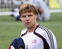 New England Revolution forward Edgaras Jankauskas (10).  The New England Revolution drew FC Dallas 1-1, at Gillette Stadium on May 1, 2010