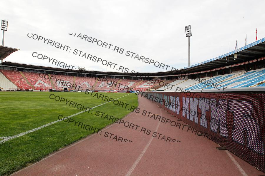 Fudbal Jelen Super League season 2014-2015 <br /> Crvena Zvezda v Rad<br /> Stadium Stadion Rajko Mitic<br /> Beograd, 03.05.2015.<br /> foto: Srdjan Stevanovic/Starsportphoto&copy;