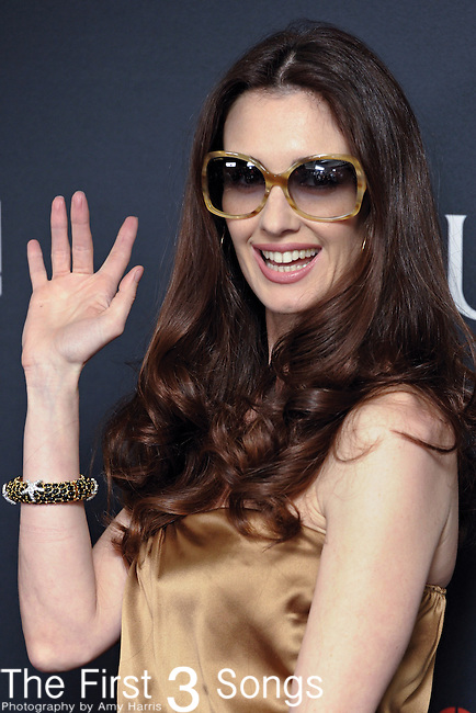 Actress Paz Vega attends the Gucci/RocNation Pre-Grammy Brunch at Soho House in West Hollywood, CA on Saturday, February 12, 2011.