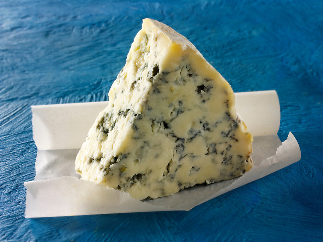 Blue Vinney  cheese. British Blue Cheese photos - Funky Stock Photos