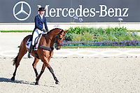 AUS-Emma McNab rides Fernhill Tabasco during the DHL-Preis CICO3* Teilprüfung Dressur. Interim-6th. 2017 GER-CHIO Aachen Weltfest des Pferdesports. Friday 21 July. Copyright Photo: Libby Law Photography