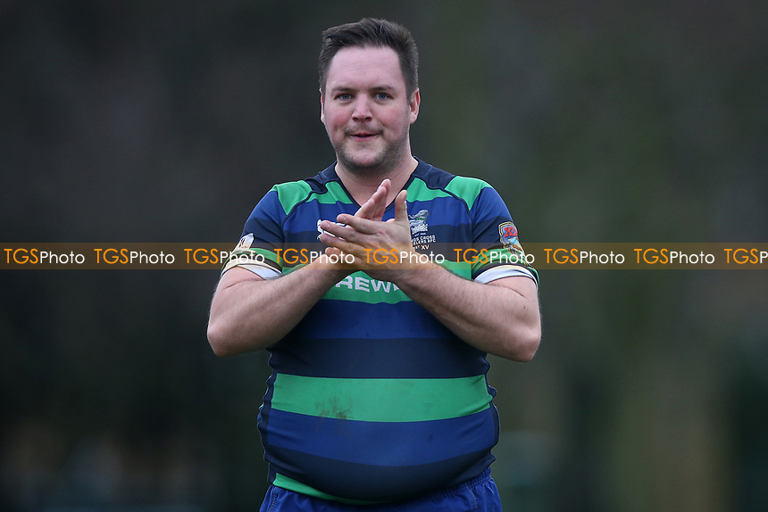 Campion RFC vs Kings Cross Steelers RFC, London 3 Essex Division Rugby Union at Cottons Park on 12th January 2019