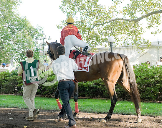 Unbroken before The Kent Stakes (gr 3) at Delaware Park on 9/22/12