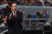 Italy coach Luigi Di Biagio gestures<br /> Reggio Emilia 22-06-2019 Stadio Città del Tricolore <br /> Football UEFA Under 21 Championship Italy 2019<br /> Group Stage - Final Tournament Group A<br /> Belgium - Italy<br /> Photo Cesare Purini / Insidefoto