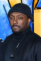 LONDON, ENGLAND - FEBRUARY 8: Will.i.am arrives at the 'Black Panther' European premiere at the Eventim Apollo, on February 8th, 2018 in London, England. <br /> CAP/JC<br /> &copy;JC/Capital Pictures