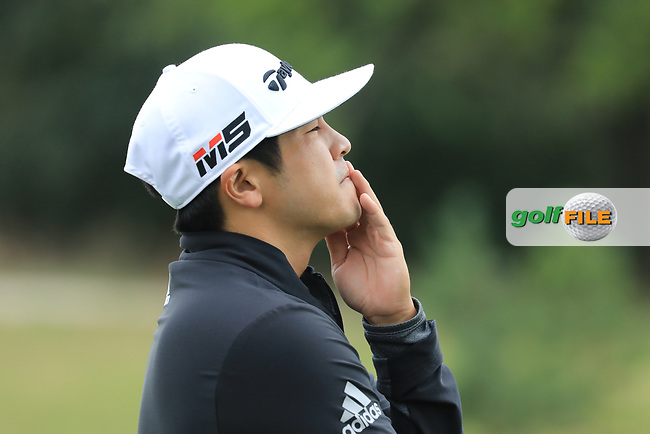 Kurt Kitayama (USA) during the second round of the Porsche European Open , Green Eagle Golf Club, Hamburg, Germany. 06/09/2019<br /> Picture: Golffile   Phil Inglis<br /> <br /> <br /> All photo usage must carry mandatory copyright credit (© Golffile   Phil Inglis)
