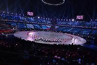 OLYMPIC GAMES: PYEONGCHANG: 09-02-2018, PyeongChang Olympic Stadium, Olympic Games, Opening Ceremony, Team Czech Republic, ©photo Martin de Jong