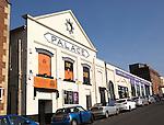 Former cinema theatre building town centre of Chippenham, Wiltshire, England, UK