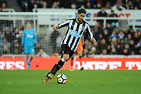 Ayoze Perez of Newcastle United during Newcastle United vs Luton Town, Emirates FA Cup Football at St. James' Park on 6th January 2018