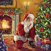 Marcello, CHRISTMAS SANTA, SNOWMAN, WEIHNACHTSMÄNNER, SCHNEEMÄNNER, PAPÁ NOEL, MUÑECOS DE NIEVE, paintings+++++,ITMCXM1304B,#X#